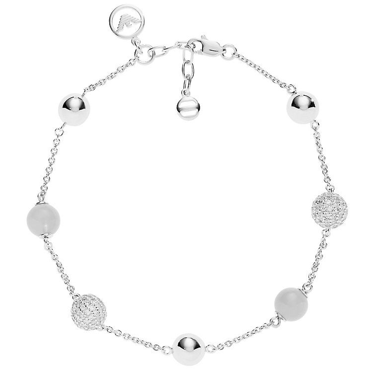 Emporio Armani Sterling Silver Bracelet - Product number 5074231
