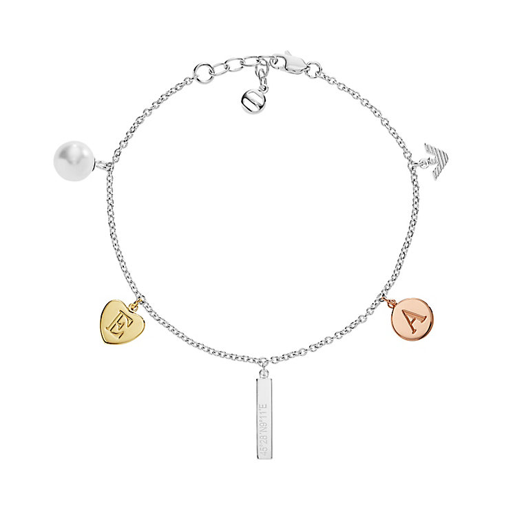 Emporio Armani Sterling silver Charm Bracelet - Product number 5074258