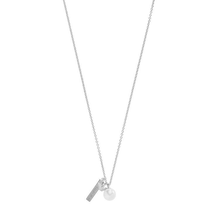 Emporio Armani Sterling Silver Charm Necklace - Product number 5074274