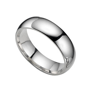 Platinum super heavy 6mm wedding ring - Product number 5076676
