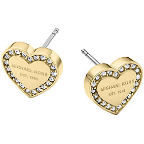 Michael Kors Gold Tone Stone Set Stud Earrings - Product number 5084849