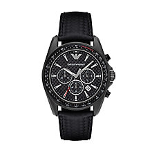 Emporio Armani Men's Ion Plated Strap Watch - Product number 5085403