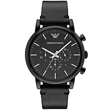 Emporio Armani Men's Ion Plated Strap Watch - Product number 5085470