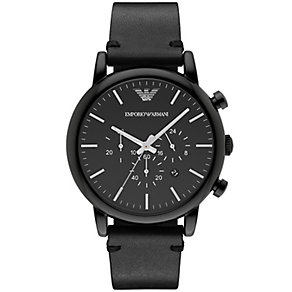 Emprio Armani Men's Ion Plated Strap Watch - Product number 5085470