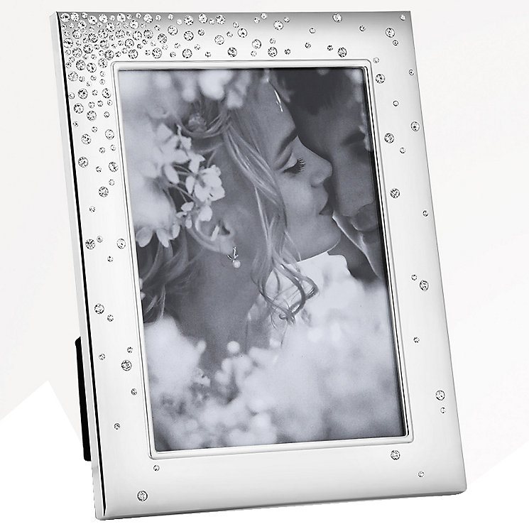 "Newbridge Bridal Stone Set Photo Frame 4"" x 6"" - Product number 5085810"