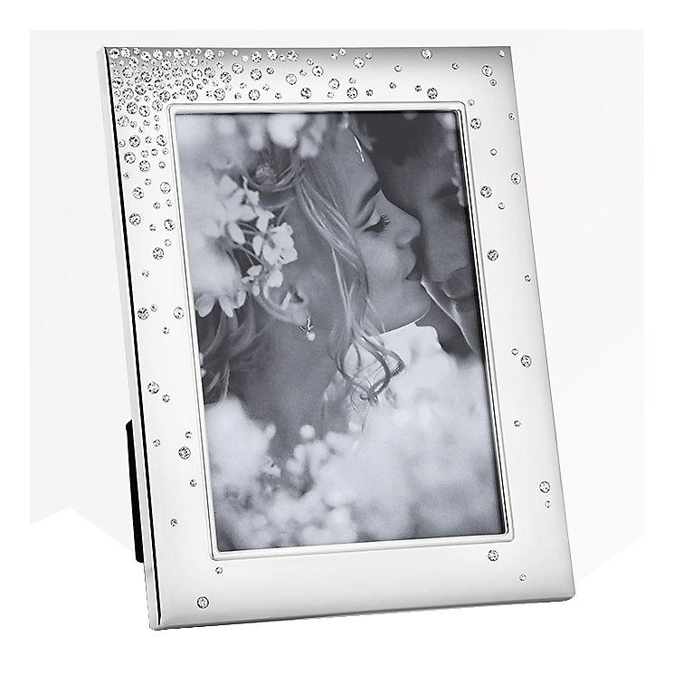 "Newbridge Bridal Stone Set Photo Frame 5"" x 7"" - Product number 5085829"