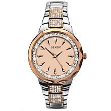 Sekonda Seksy Ladies' Champagne Dial Bracelet Watch - Product number 5086108