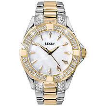 Sekonda Seksy Ladies' Two Colour Bracelet Watch - Product number 5086116