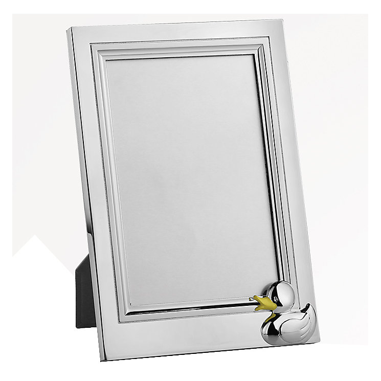 "Duck Silver Tone Photo Frame 4"" x 6"" - Product number 5087554"