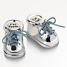First Tooth & Curl Booties With Interchangeable Laces - Product number 5087600