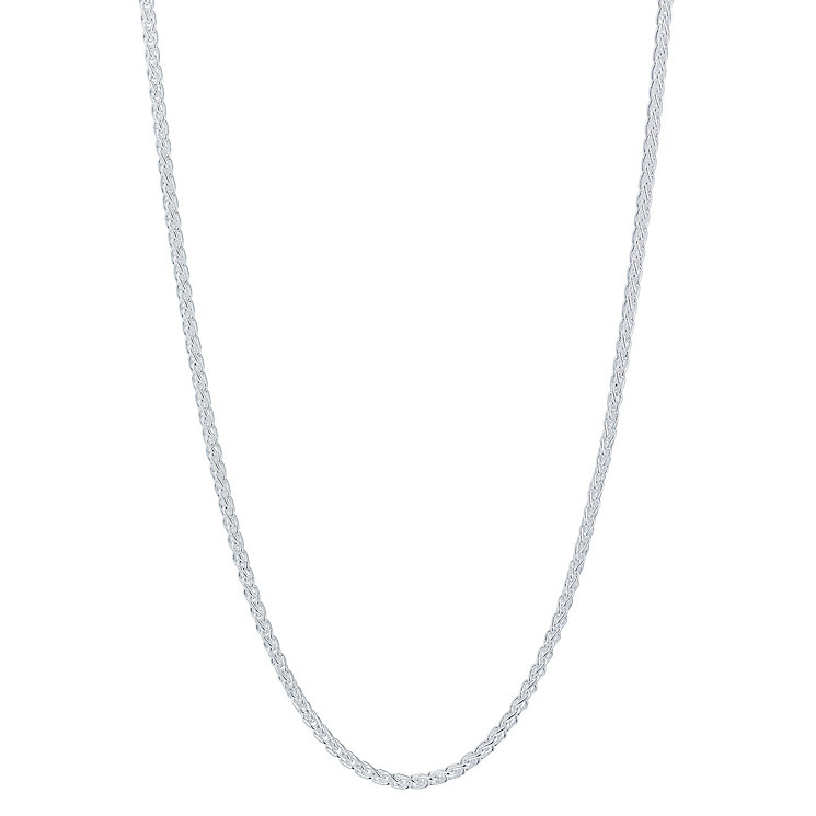 "Silver 32"" Spiga Chain - Product number 5088429"