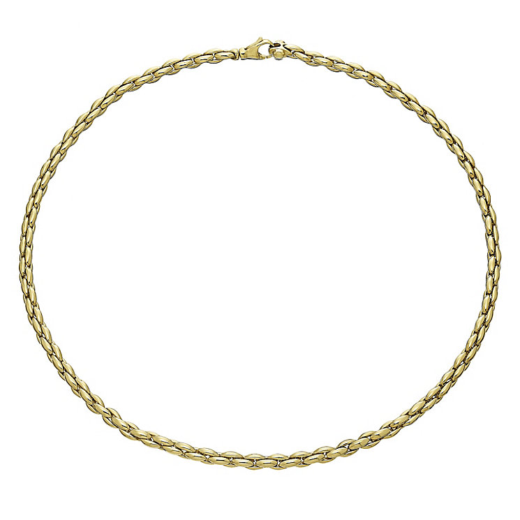 9ct Yellow Gold Chain Collar - Product number 5088690