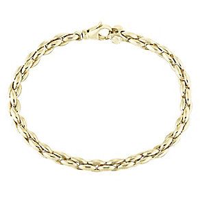 9ct Yellow Gold Polished Bracelet - Product number 5088771