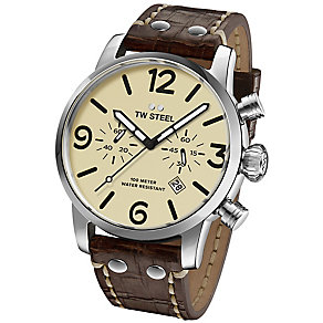 TW Steel Men's Stainless Steel Strap Watch - Product number 5089255