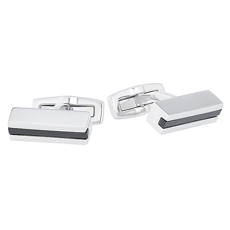 Hugo Boss Stainless Steel Cufflinks - Product number 5092566