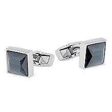 Hugo Boss Black Glass Fibre Cufflinks - Product number 5092574