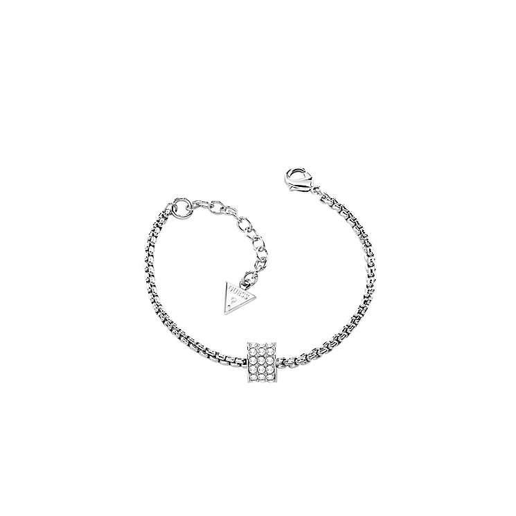 Guess G Rounds Rhodium-Plated Bracelet - Product number 5098467