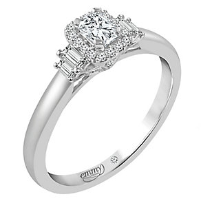 Emmy London 18ct White Gold 0.40ct Diamond Solitaire Ring - Product number 5098904