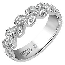 Emmy London Palladium 0.12 Carat Diamond Ring - Product number 5099307