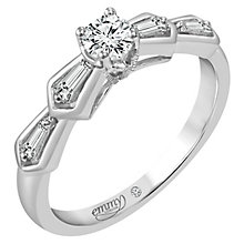 Emmy London Platinum 2/5 Carat Diamond Solitaire Ring - Product number 5100364