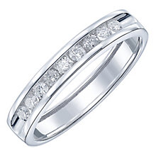 Platinum 25pt Diamond Band - Product number 5108942