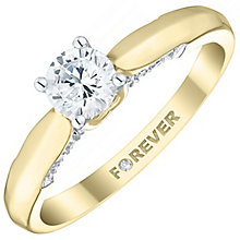 18ct gold 1/2 carat total Forever Diamond ring - Product number 5109914