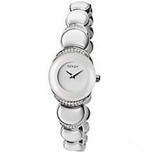 Sekonda Seksy Ladies' Stainless Steel Ceramic Bracelet Watch - Product number 5113148