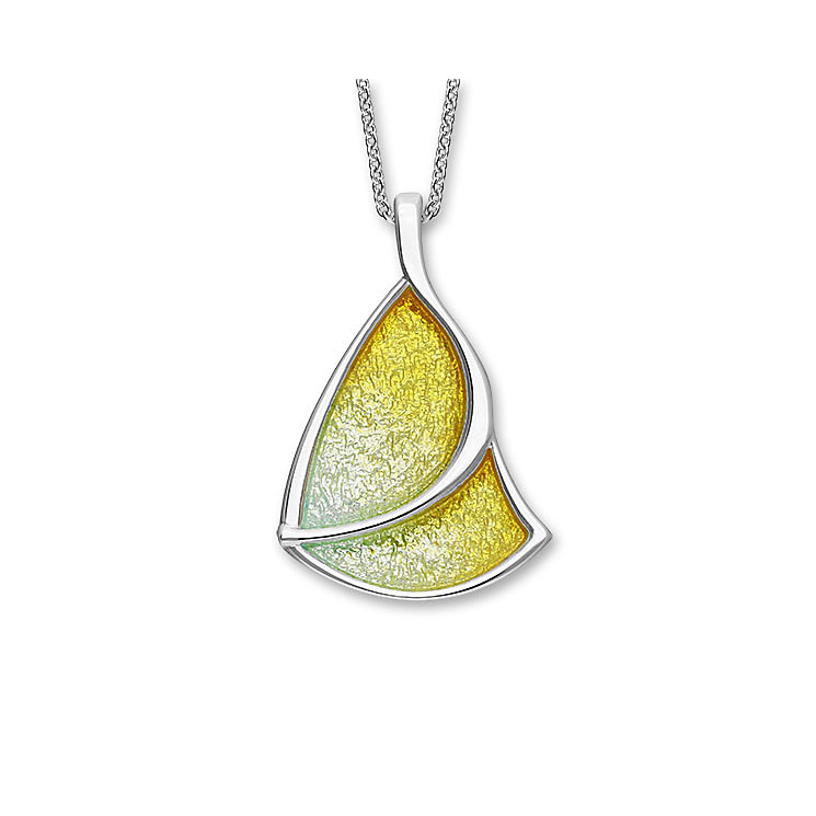 Ortak Silver Haven Hand Enamelled Yellow Pendant - Product number 5120535