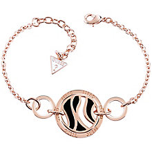 Guess Rose Gold-Plated Bold Coins Bracelet - Product number 5121078