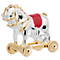 Chamilia Silver, Red Enamel & Gold Plate Toy Horse Bead - Product number 5126843