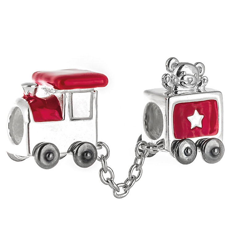 Chamilia Sterling Silver & Red Enamel Choo Choo Bead - Product number 5126967