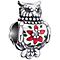 Chamilia Sterling Silver Swarovski Embellished Owl Bead - Product number 5127041