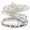 Chamilia Silver Disney Cinderella Stacker Ring Set Size XL - Product number 5127548