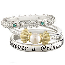 Chamilia Disney Little Mermaid Stacker Ring Set Size XL - Product number 5127645