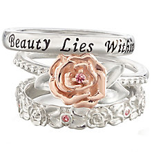 Chamilia Disney Beauty & The Beast Stacker Rings Size XS - Product number 5127653
