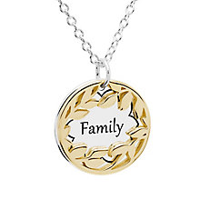 Chamilia Treasure Silver & Gold-Plated Family Necklace - Product number 5127750