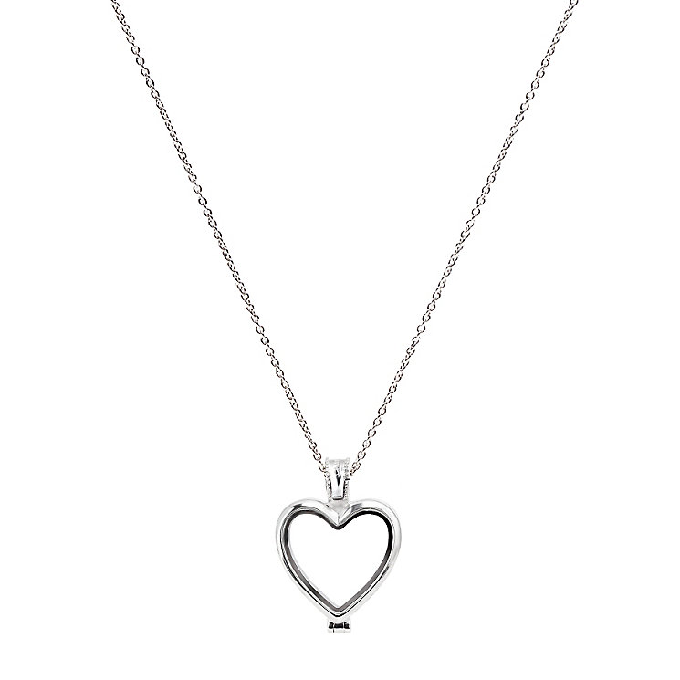 "Chamilia Sterling Silver Heart Memory Locket 24"" Extender - Product number 5127793"
