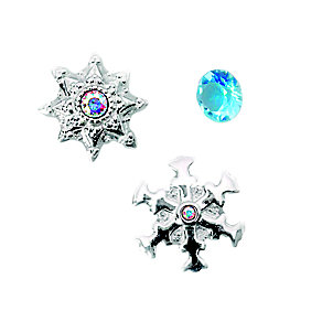 Chamilia Silver Swarovski Let It Snow Passions Charm Trio - Product number 5127807