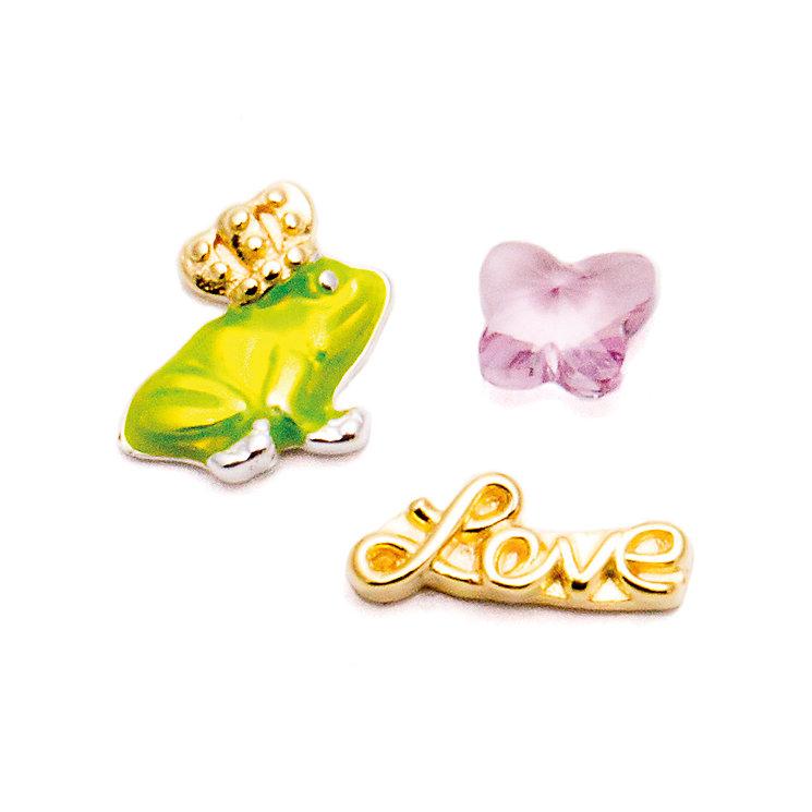 Chamilia Silver Swarovski Fairy Prince Love Charm Trio - Product number 5127815