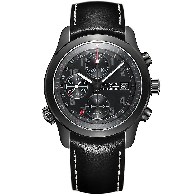 Bremont ALT1-B Men's Stainless Steel Strap Watch - Product number 5129052