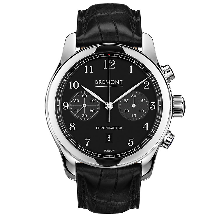 Bremont ALT1-C/PB Classic Chronometer Men's Strap Watch - Product number 5129079