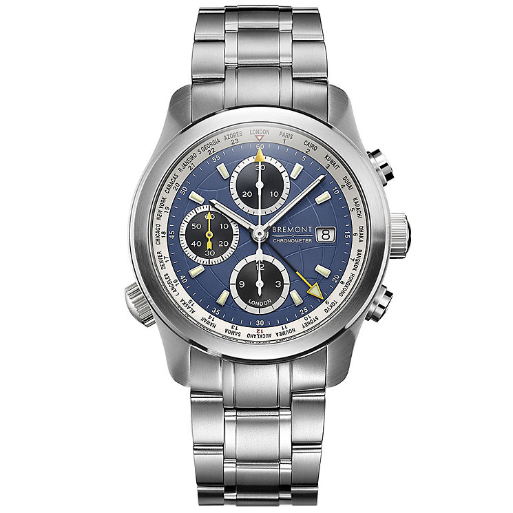 Bremont ALT1-WT/BL World Timer Men's Bracelet Watch - Product number 5129117