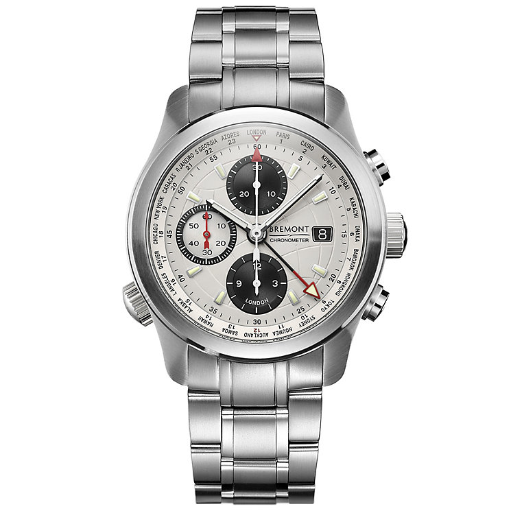 Bremont ALT1-WT/WH World Timer Men's Bracelet Watch - Product number 5129125