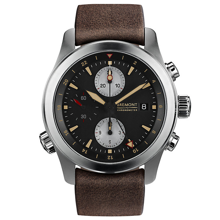 Bremont ALT1-ZT/51 Zulu Men's Stainless Steel Strap Watch - Product number 5129133