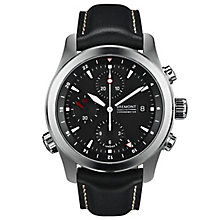 Bremont ALT1-ZT Zulu Men's Stainless Steel Black Strap Watch - Product number 5129141