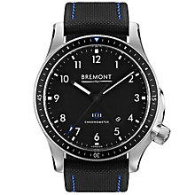 Bremont Boeing Model 1/BK Men's Stainless Steel Strap Watch - Product number 5129176