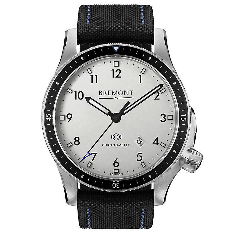 Bremont Boeing Model 1/WH Men's Stainless Steel Strap Watch - Product number 5129184