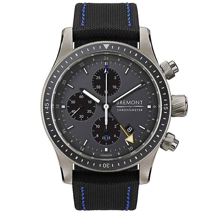 Bremont Boeing Model 247 TI-GMT Men's Titanium Strap Watch - Product number 5129206