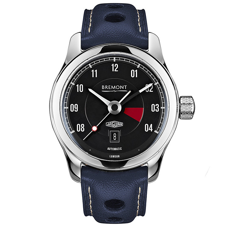Bremont Jaguar MKIII Men's Stainless Steel Strap Watch - Product number 5129249