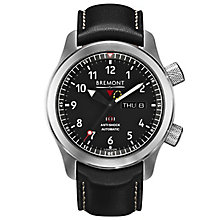 Bremont Martin Baker MBII-BK Men's Green Side Strap Watch - Product number 5129265